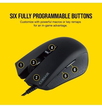 Corsair Harpoon Pro RGB Gaming Mouse - Lightweight Design - 12,000 DPI Optical Sensor