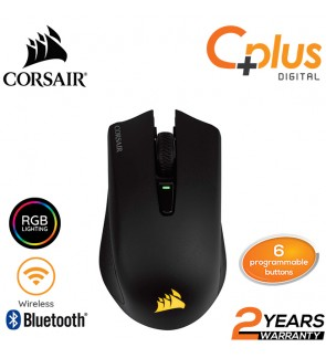 Corsair Harpoon RGB Wireless Rechargeable Gaming Mouse - 10,000 DPI Optical Sensor