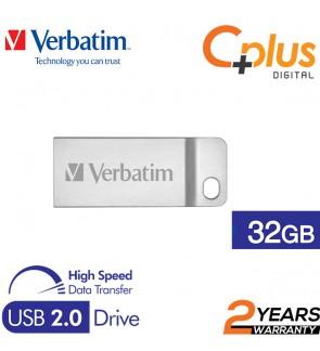 Verbatim Metal Executive USB2.0 Pendrive 32GB
