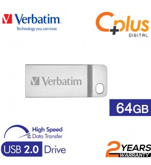 Verbatim Metal Executive USB2.0 Pendrive 64GB