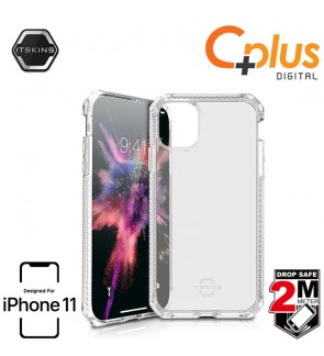 ITSKINS Spectrum Clear 2M Drop Proof Case for iPhone 11