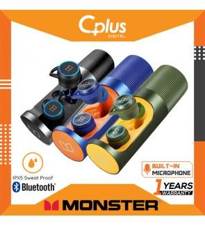 Monster Clarity 101 Airlinks Bluetooth 5.0 IPX5 Waterproof True Wireless Earbuds