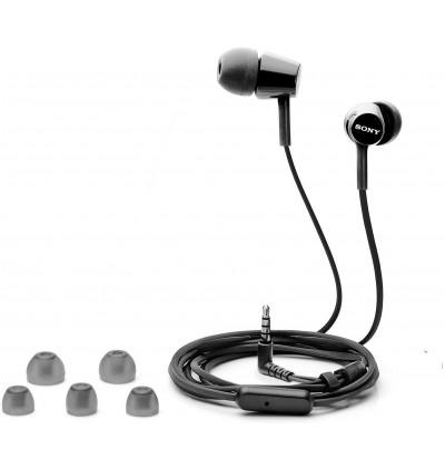 Sony MDR-EX155AP In-Ear Earphone Headphone with Microphone