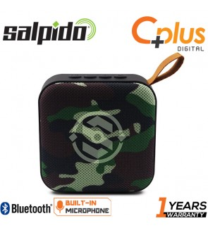 Salpido S5 Bluetooth Portable Speaker with FM/Radio, MicroSD