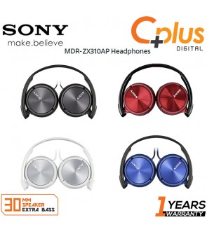 Sony MDR-ZX310 On-Ear Headset Headphone With Quality Sound & Music