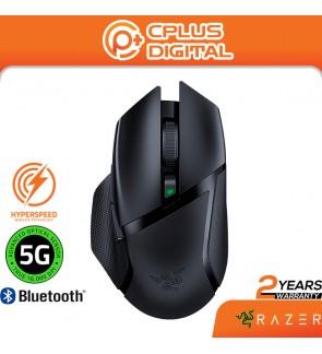 Razer Basilisk X Hyperspeed Wireless Gaming Mouse: Bluetooth & Hyperspeed Wireless Compatible - 16K DPI Optical Sensor - 6 Programmable Buttons