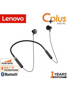 Lenovo HE02 Neck Hook Bluetooth 5.0 Earphone with Mic & Volume Control