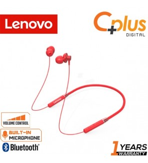 Lenovo HE05 Neck Hook Bluetooth 5.0 Earphone with Mic & Volume Control