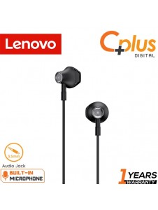 Lenovo HF140 Large Unit Semi In-Ear Metal Earphone with Mic & Volume Control
