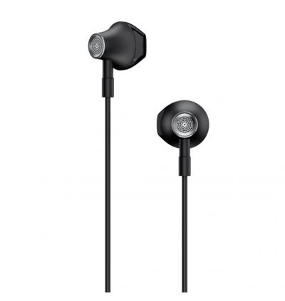 Lenovo HF140 Large Unit Semi In-Ear Metal Earphone with Mic & Volume Control
