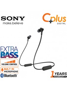 Sony WI-XB400 Bluetooth 5.0 Wireless In-Ear Extra Bass Headphones with Mic & Volume Control