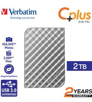 Verbatim Store n Go USB3.0 2TB Portable Hard Drive / Hard Disk