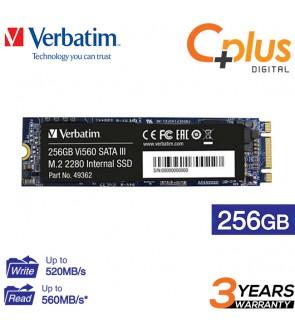 Verbatim 256GB Vi560 SATA III M.2 2280 Internal SSD / Solid State Drive