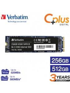 Verbatim 256GB / 512GB Vi560 SATA III M.2 2280 Internal SSD / Solid State Drive