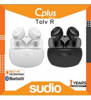 Sudio TOLV R Bluetooth 5.0 True Wireless Earbuds with Microphone