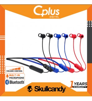 Skullcandy JIB Plus Bluetooth Wireless In Ear Earbuds with Mic & Volume Control