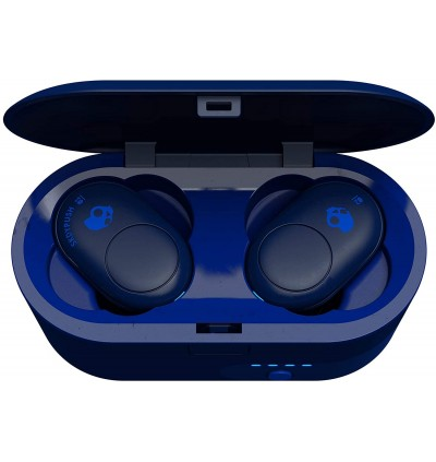 Skullcandy Push Truly Wireless Earbuds with Charging Case Extra 6 Hours Battery Life Built-In Microphone Water-Resistant
