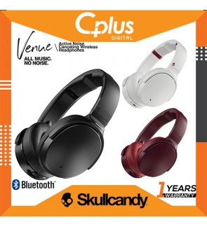Skullcandy Venue Active Noise Canceling Bluetooth Wireless Headphone with Mic