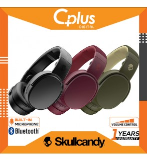Skullcandy Crusher Wireless Immersive Bass Bluetooth Over-Ear Headphones with Mic & Volume Control