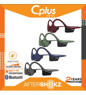 AfterShokz Trekz Air IP55 Sweat Resistance Wireless Bone Conduction Headphone