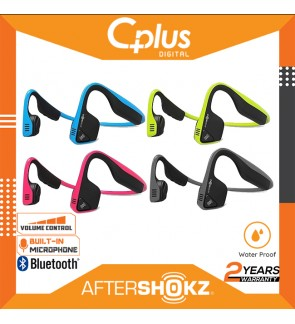 AfterShokz Trekz Titanium IP55 Sweat Resistance Wireless Bone Conduction Headphone