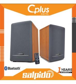 Salpido Element 700 2.1 Bluetooth Speaker with Remote Control, Wood Design