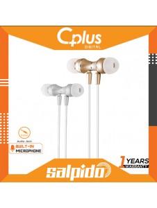 Salpido ES02 Metal Magnetic Earphones with Microphone