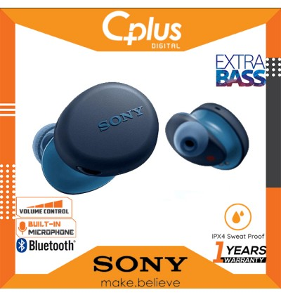 Sony WF-XB700 Extra BASS Bluetooth True Wireless Earbuds Headset/Headphones with Mic