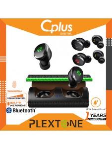 Plextone 4Free Bluetooth 5.0 True Wireless Low Latency Gaming Headset with Mic , Touch Sensor
