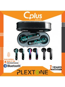 Plextone 4Game Bluetooth 5.1 True Wireless 65ms Ultra Low Latency IPX 5 Stereo In-Ear Gaming Earbuds with Mic