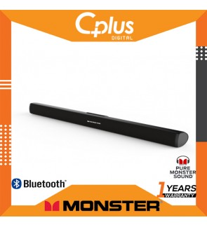 Monster SB2 36 inches Bluetooth 4.2 Premium Home Theater Sound Bar 2.0 Channel System with Remote Control
