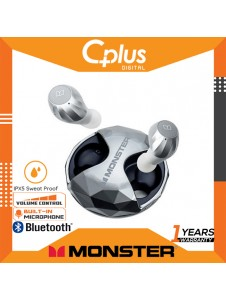 Monster Airlinks Clarity HD True Wireless TWS Bluetooth IPX 5 Waterproof In-Ear Earbuds