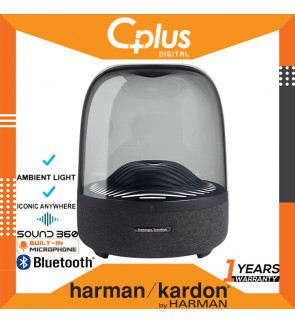 Harman Kardon Aura Studio 3 Bluetooth Wireless Speaker with Ambient Light , 360 Degree Surround Sound