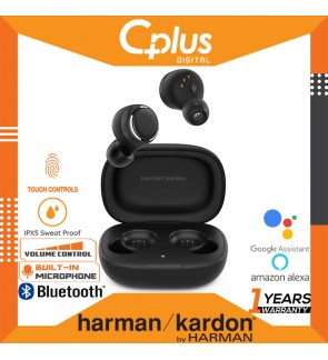 Harman Kardon FLY Bluetooth 5.0 TWS True Wireless In Ear Headphone with Microphone , Volume Control