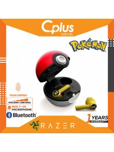 Razer Hammerhead True Wireless Bluetooth 5.0 Auto Pairing Earbuds: Ultra Low-Latency - POKEMON Limited Edition