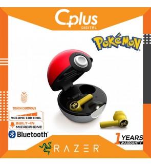 Razer Hammerhead True Wireless Bluetooth 5.0 Auto Pairing Earbuds: Ultra Low-Latency - POKEMON Limited Edition