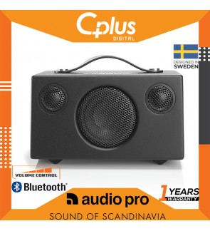 Audio Pro Addon T3+ Bluetooth 4.0 Portable Speaker with AUX input & built in USB PowerBank