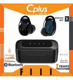 FIIL T1X Bluetooth 5.0 TWS True Wireless Noise Cancelling Earbuds, Apps Support for 15 EQ Modes,