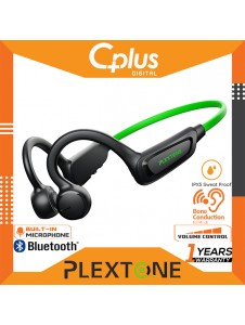 Plextone Boost1 Bone Conduction Bluetooth Wireless Gaming Headset with Mic & Volume Control