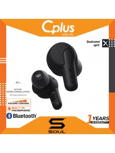 Soul Sync ANC Active Noise Cancelling Bluetooth 5.1 True Wireless Earphone with Mic
