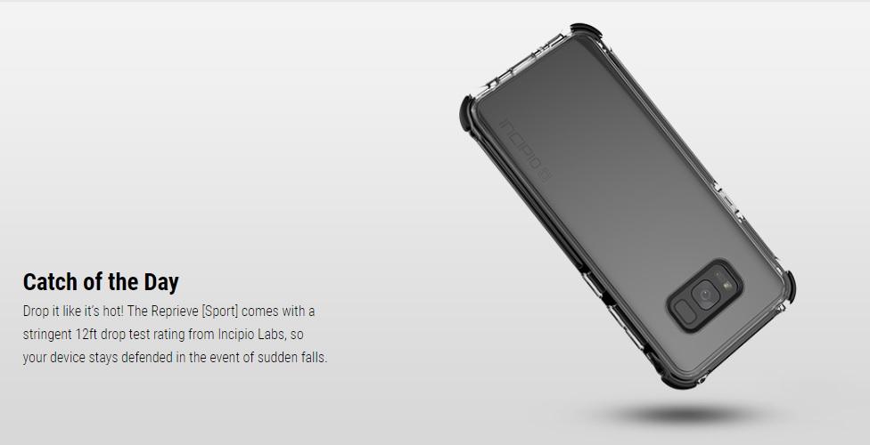 hot sale online 4a789 11eda Incipio Reprieve Sport Case for Samsung S8