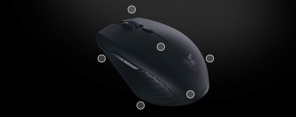 Razer Atheris 7,200 DPI 2 4 GHz Wireless Gaming Mouse (350